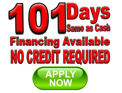ask about our financing options